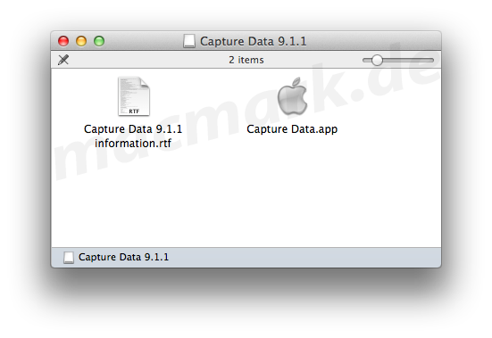capture data application