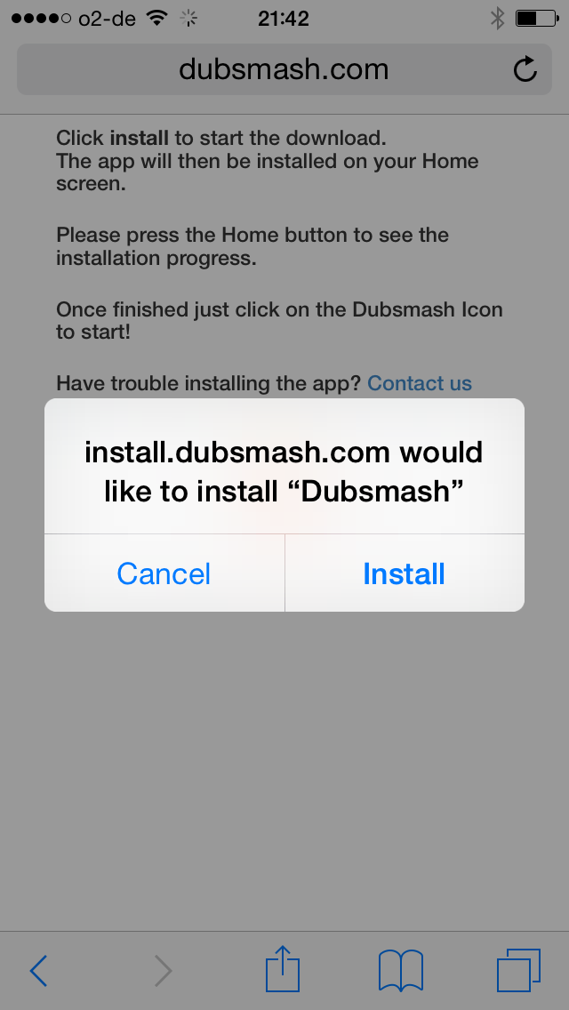 Dubsmash Website Installation